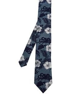 Ted Baker Cava Silk Floral Print Skinny Tie