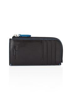 Ted Baker Chicar Contrast-Stitch Leather Cardholder
