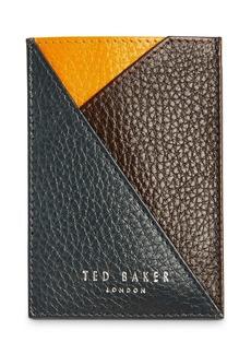 Ted Baker Color Block Leather Cardholder