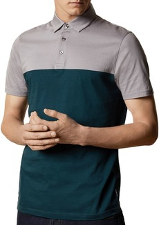 Ted Baker Color-Blocked Short-Sleeve Polo