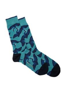 Ted Baker Crane Jacquard Socks
