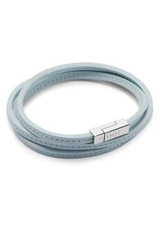Ted Baker Crink Stitched Wrap Bracelet