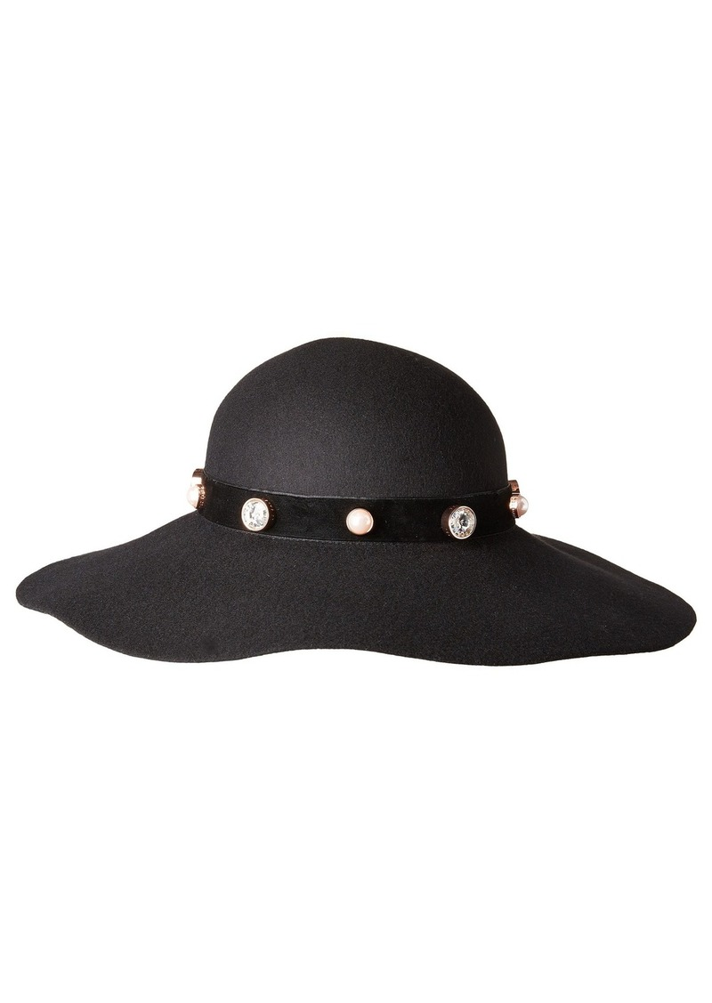 Ted Baker Crystal + Pearl Studded Floppy Hat  7455e267e29