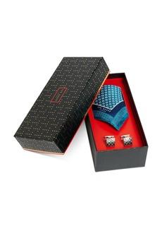 Ted Baker Cufflinks & Pocket Square Gift Set