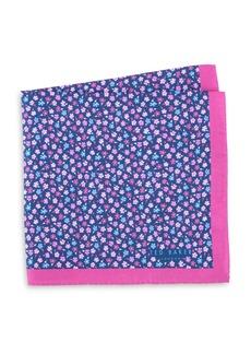 Ted Baker Ditsy Floral Silk Pocket Square