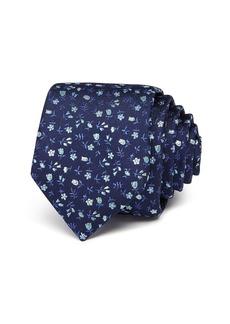 Ted Baker Ditsy Tulip Skinny Necktie