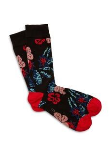 Ted Baker Dorral Floral Pattern Socks