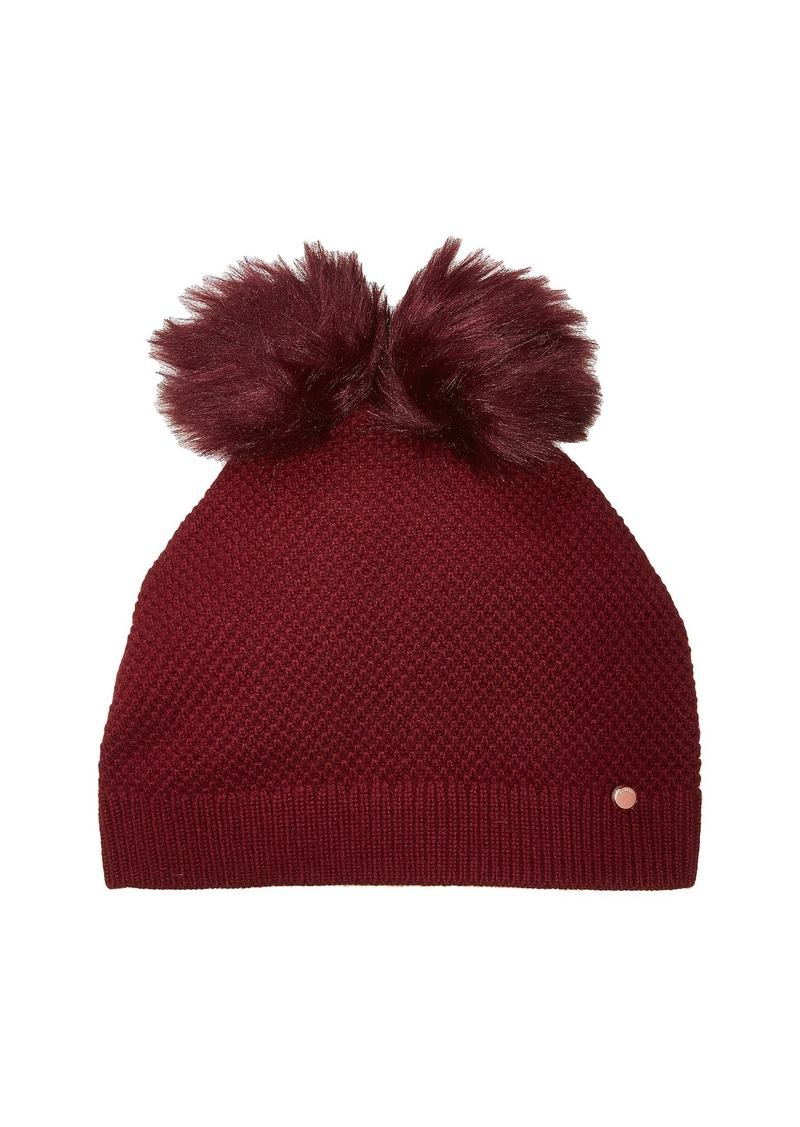 c4641eb8213a2 Ted Baker Double Pom Pom Hat Now  47.99
