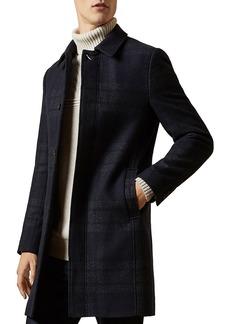 Ted Baker DUDNO-oversized check overcoat