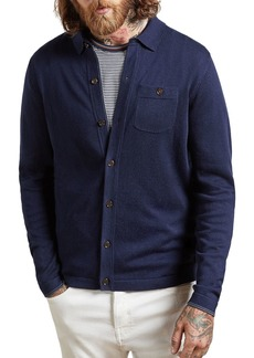 Ted Baker Eastend Knitted Shirt Cardigan