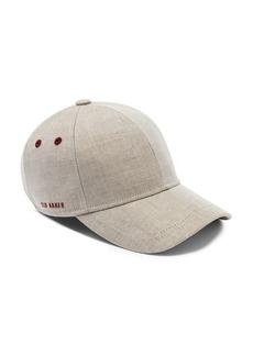 Ted Baker Eccles Coated Linen Baseball Cap
