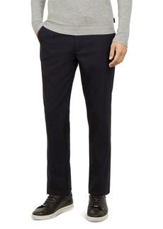 Ted Baker Elloe Slim Fit Dot-Jacquard Trousers