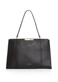 Ted Baker Faceted Bow Leather Tote