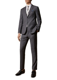 Ted Baker Fenceto Endurance Glen Plaid Slim Fit Suit