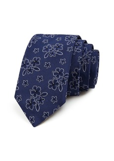 Ted Baker Floral Hibiscus Classic Tie