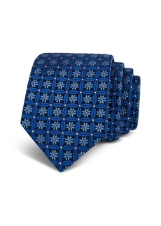 Ted Baker Floral Lattice Silk Classic Tie