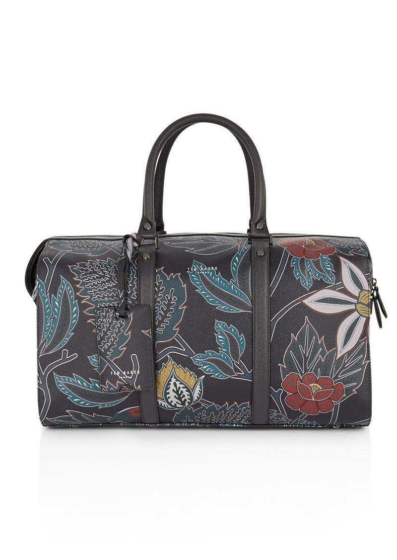 Ted Baker Floral Print Holdall Bag