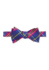 Ted Baker Happy Plaid Silk Bow Tie