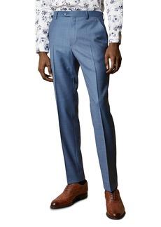 Ted Baker HectorT Debonair Sharkskin Modern Fit Trousers