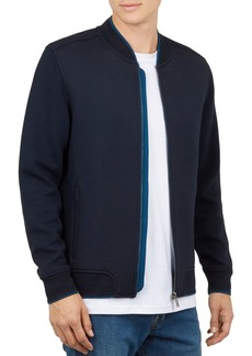 Ted Baker Holla Textured Sleeve Bomber