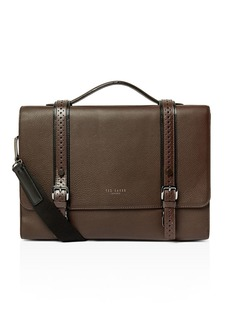 Ted Baker Hoock Brogue Leather Satchel