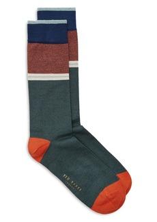 Ted Baker Hopewell Striped Socks