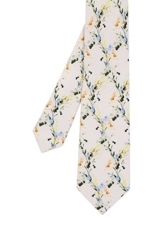 Ted Baker Hyatie Small Flower Silk Skinny Tie