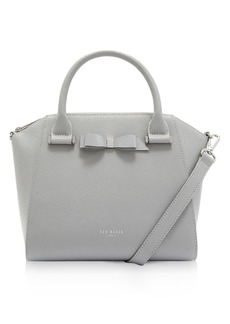 Ted Baker Janne Bow Detail Leather Tote