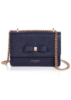 Ted Baker Jayllaa Bow Leather Convertible Crossbody