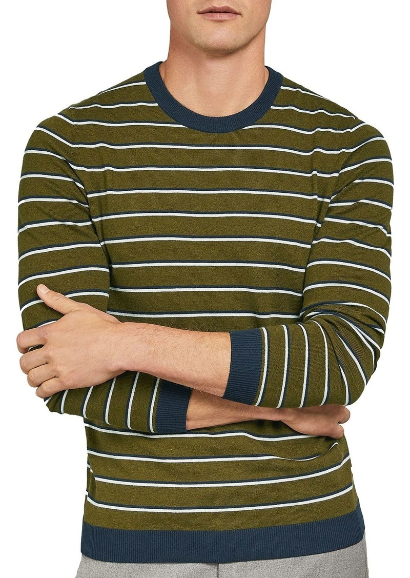 Ted Baker Jeza Striped Crewneck Sweater