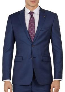 Ted Baker Kernalj Debonair Sharkskin Slim Fit Suit Jacket