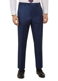 Ted Baker Kernalt Debonair Sharkskin Slim Fit Trousers