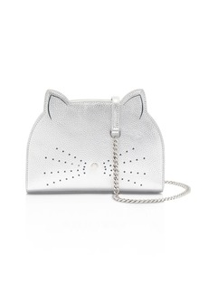 Ted Baker Kirstie Cat Medium Leather Shoulder Bag