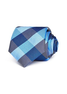 Ted Baker Large Derby Check Classic Tie