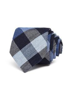 Ted Baker Large Multi-Gingham Skinny Necktie