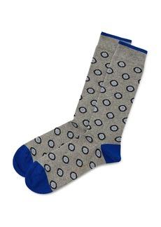 Ted Baker Largo Circle Pattern Socks