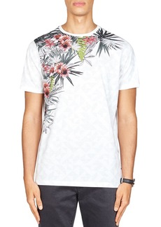 Ted Baker Lassie Placement Print Tee