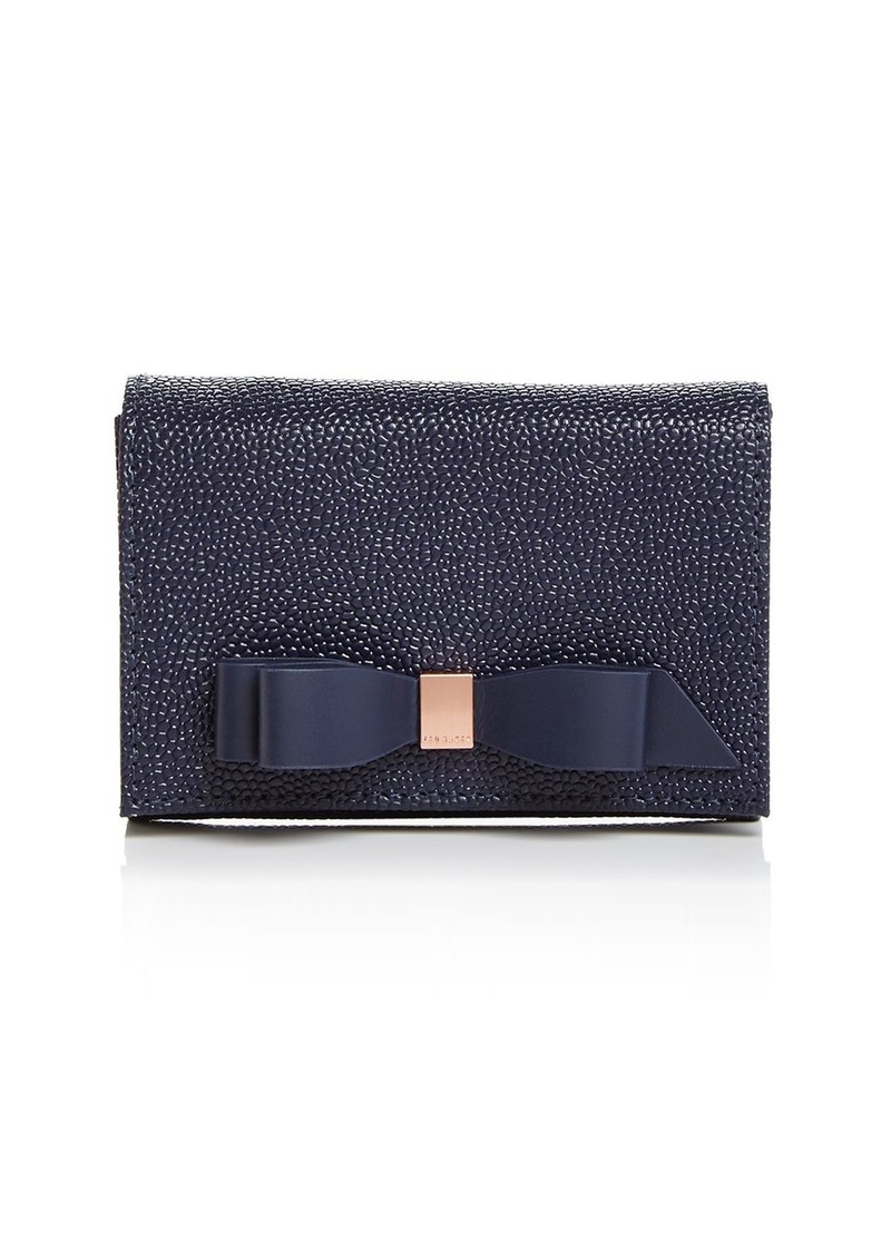 Ted Baker Leonyy Mini Bow Leather Wallet