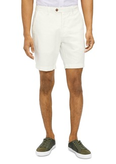 Ted Baker Linen-Cotton Shorts