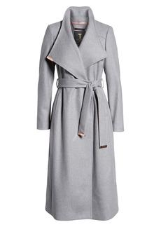 Ted Baker Londer Midi Wool Wrap Coat
