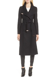 Ted Baker Londer Midi Wool Wrap Coat