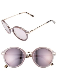 Ted Baker London 49mm Round Sunglasses