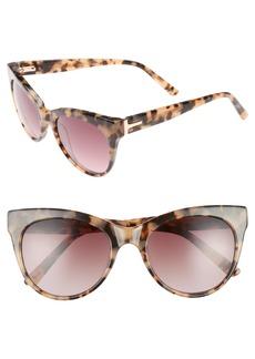 Ted Baker London 51mm Cat Eye Sunglasses