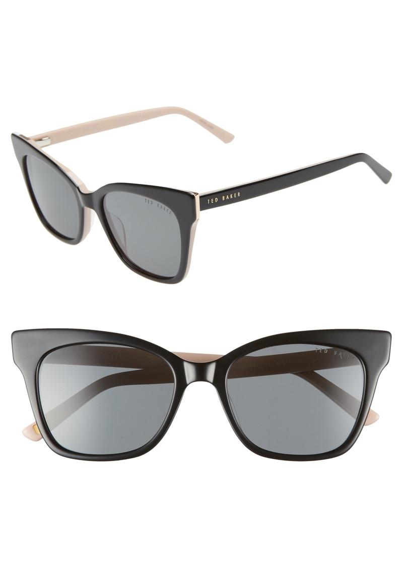 843dd13be2 Ted Baker Ted Baker London 53mm Cat Eye Sunglasses