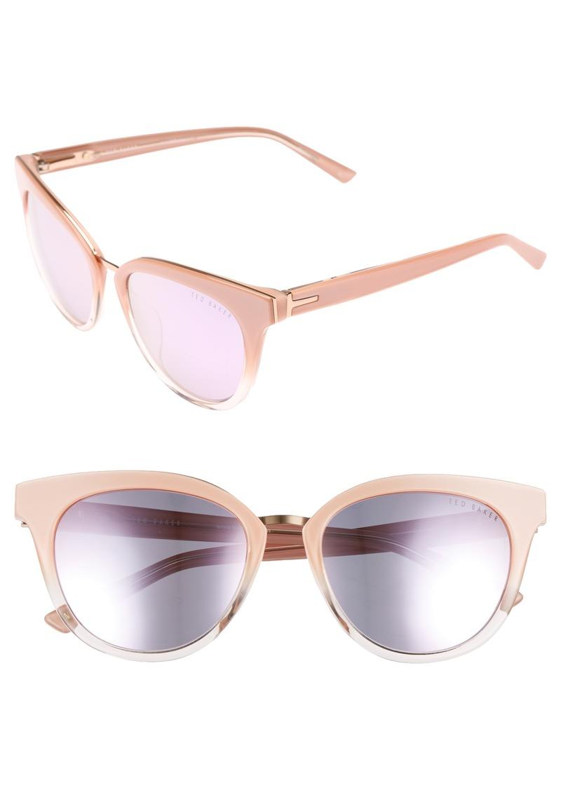 12cc4e6bb On Sale today! Ted Baker Ted Baker London 53mm Cat Eye Sunglasses