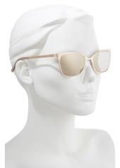 63ebdef7ffac81 Ted Baker Ted Baker London 53mm Rectangle Cat Eye Sunglasses ...