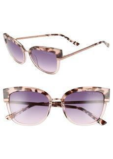 Ted Baker London 53mm Square Sunglasses
