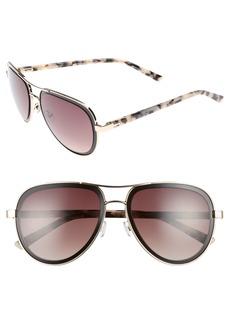 Ted Baker London 54mm Aviator Sunglasses