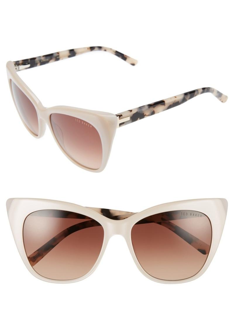 e4552f57b7 Ted Baker Ted Baker London 54mm Cat Eye Sunglasses