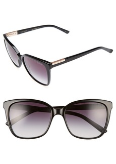 Ted Baker London 54mm Gradient Lens Square Sunglasses
